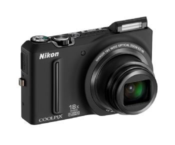Nikon Coolpix S9100 pocket megazoom camera