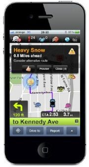Get traffic updates in real-time from those who know best--other drivers stuck in them.