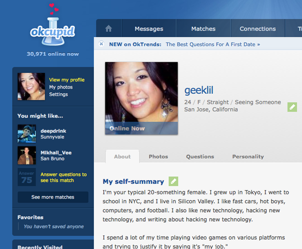 Free online dating sites like okcupid