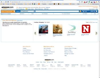 Apple Denied Injunction on Amazon's Use of Appstore