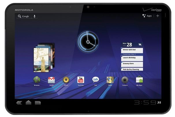 Motorola Xoom LTE Upgrades Begin