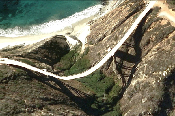 15 Surreal Bridges 'Melting' On Google Earth | PCWorld