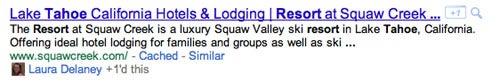 Google Plus One Search