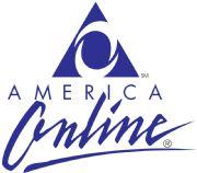 America Online early logo