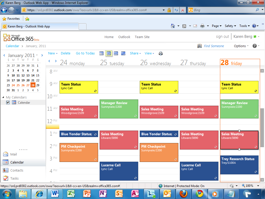 Office Calendar 365 : Microsoft office beta opens for business what s