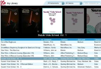 SmartMusic provides digital versions of my teaching books plus accompaniment playback.