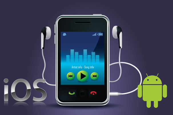 Mobile Phone Music Player Software