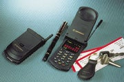 Motorola's clamshell breakthrough: the StarTAC mobile phone.