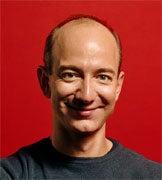 Jeff Bezos, founder of Amazon.com.