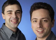Larry Page (left) and Sergey Brin, cofounders of Google.