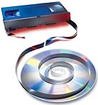 Good-Bye, VHS; Hello, DVD.