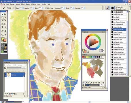 Latest Corel Painter Update Keeps It Real Pcworld