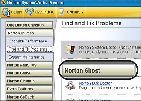 Symantec Norton SystemWorks 2005 (1 cd)