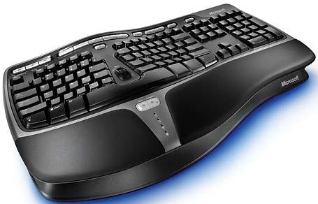 ...клавишами и дурацкой синей подсветкой (из-за которой в реальных...