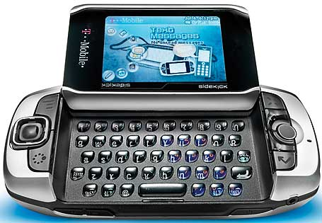 T-Mobile Sidekick 3 pictures, official photos