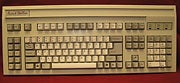 The Avant Stellar, a metal keyboard that resembles the long-lost Northgate OmniKey Ultra.