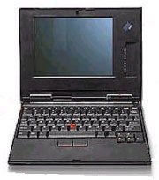 The IBM WorkPad z50 handheld PC.