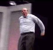 Microsoft head cheeleader Steve Ballmer