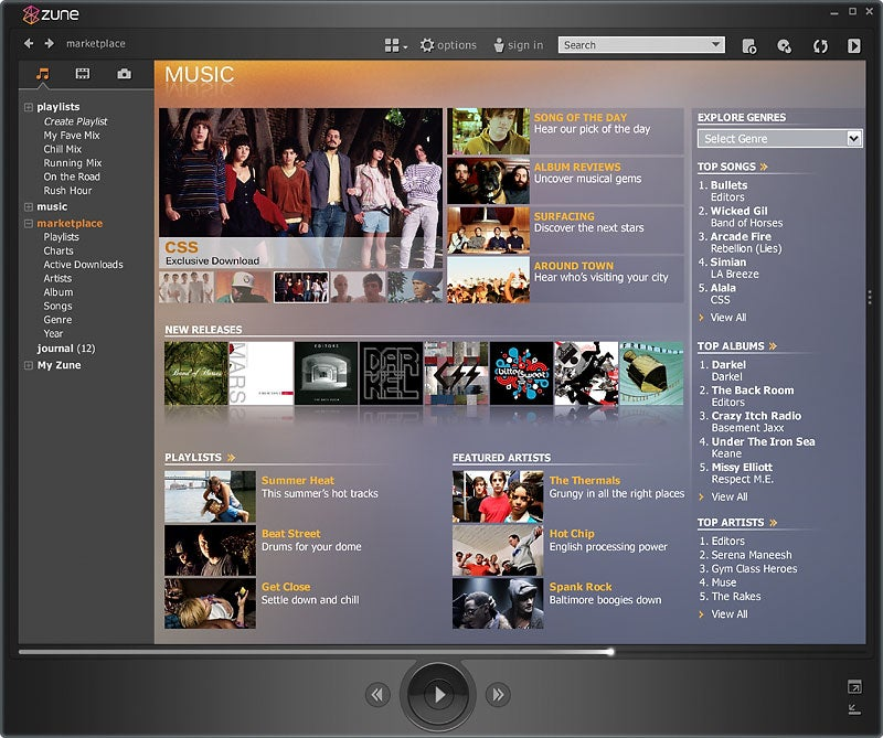 First Look: Microsoft's Zune Won't Cause You to Dump Your iPod