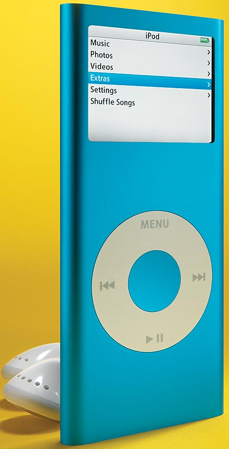 Small powerful audio players techhive apple ipod nano fandeluxe Gallery