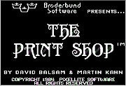 Br?derbund The Print Shop (1984)
