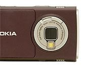 Nokia N95, camera lens