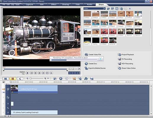 Ulead VideoStudio 11 Plus