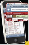 iPhone's Safari, our mobile browser winner, displays Web pages the best.