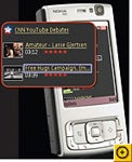 Symbian's S60 browser renders pages quickly but has trouble streaming video.
