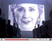 Apple 1984 Clinton mashup