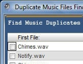 Duplicate Music Files
