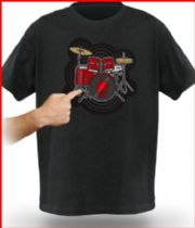 Electronic Drum Kit T-Shirt