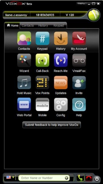 Use Your E-mail, IM, and Social Networks   All in VoxOx