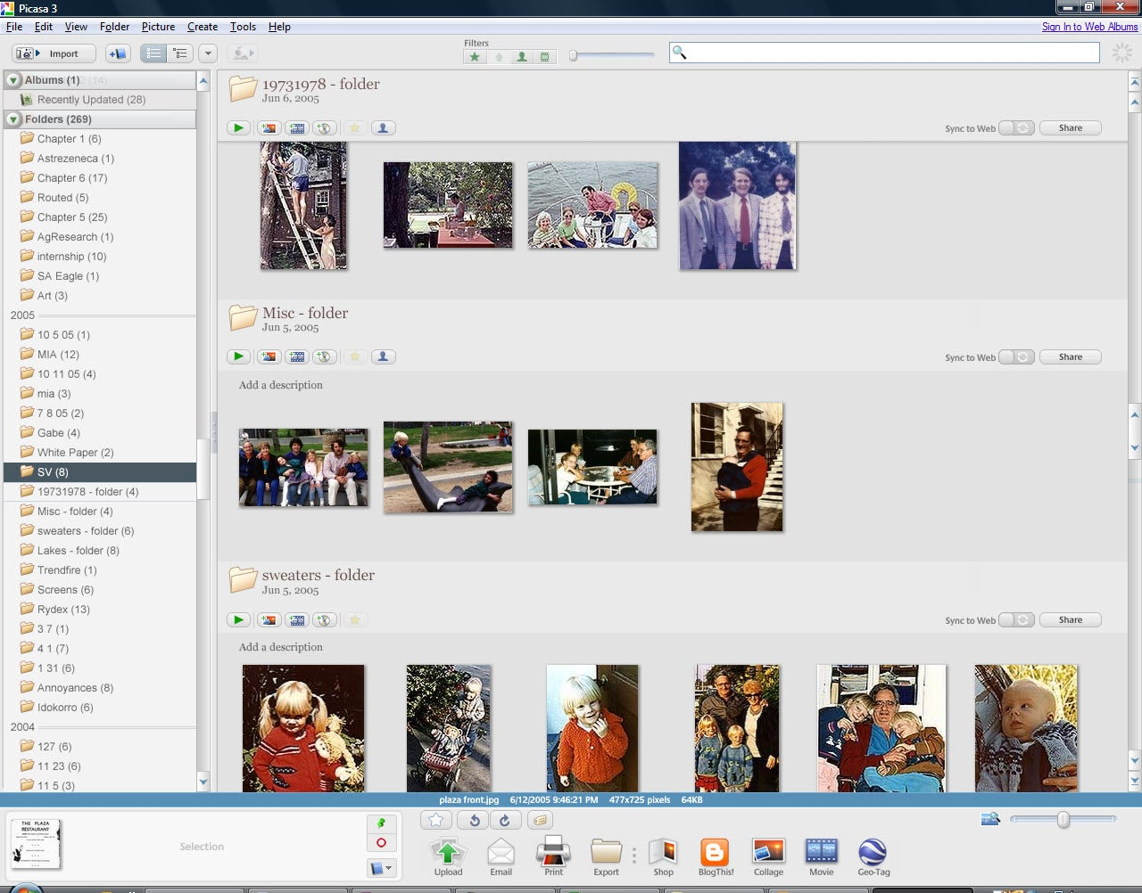 Cached Upload pictures from ipad to picasa