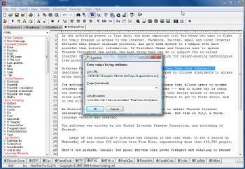 NoteTab Pro screenshot