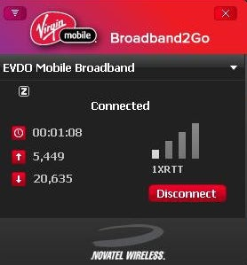 Virgin mobile fast card
