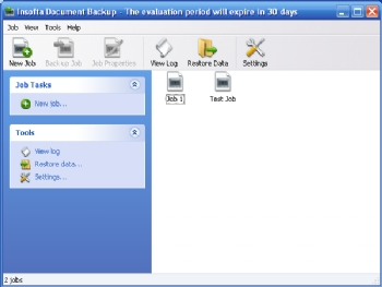 Insofta Document Backup screenshot