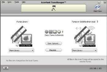 TuneRanger screenshot