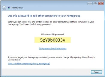 view homegroup password windows xp