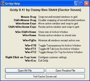 Gridy screenshot