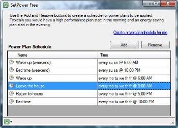 SetPower Free screenshot