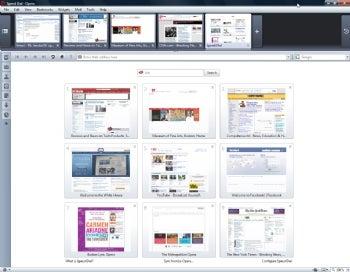 Opera 10 Release Candidate screenshot