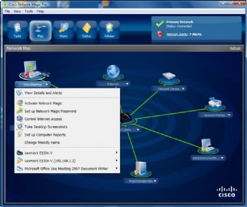 Network Magic screenshot
