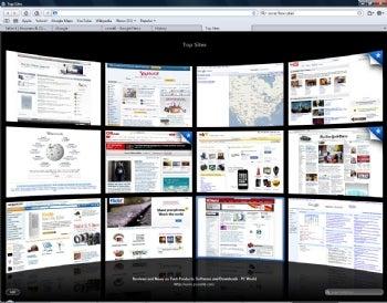 Safari 4 screenshot