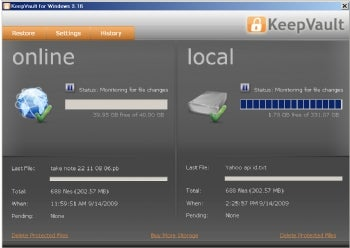 KeepVault screenshot