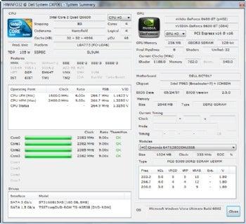 HWiNFO32 screenshot