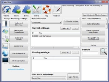 Win7Zilla screenshot