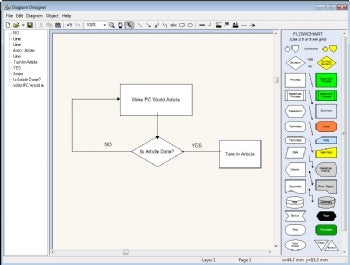 Diagram Designer screenshot