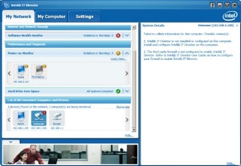Intel IT Director screenshot