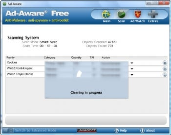 Ad-Aware Free screenshot